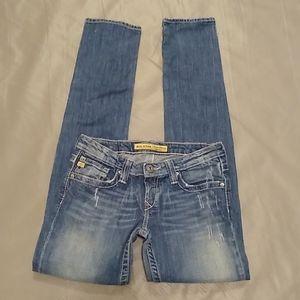 Big Star sweet skinny ultra low fit jeans size 28L